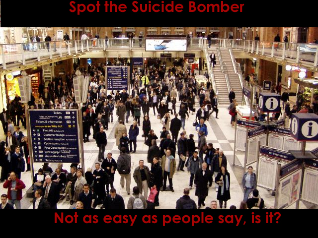 Spot the Suicide Bomber by Hurtful Orison