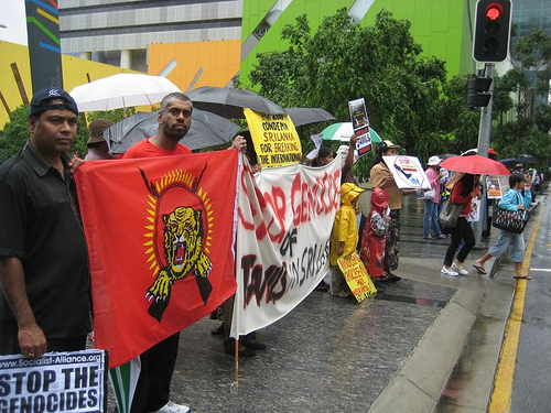 Pro-LTTE demonstrations in Sydney (tamilsydneydotcom31/flickr)