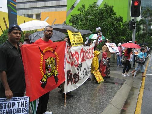 Pro-LTTE demonstrations in Sydney (tamilsydneydotcom31/flickr)