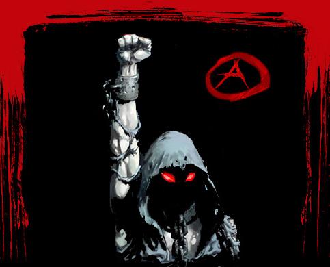 anarchy the blacklight arrow